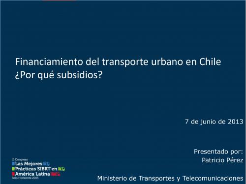 Financiamiento del transporte urbano en Chile ¿Por qué subsidios?_Foto_Destacada
