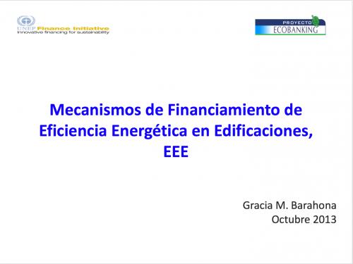 Mecanismos de Financiamiento de Eficiencia Energética en Edificaciones, EEE_Imagen_Destacada