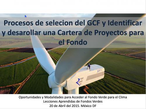 Procesos de seleccion del GCF y Identificar y desarrollar una Cartera de Proyectos para el Fondo_Foto_Destacada