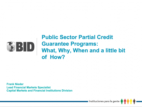 Public Sector Partial Credit Guarantee Programs What why When and a little bit of How_Foto_Destacada