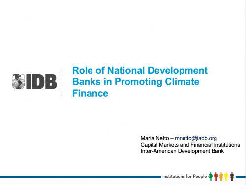 Role of National Development Banks in Promoting Climate Finance_Foto_Destacada
