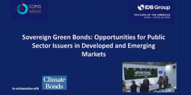 Sovereign Green Bonds: Opportunities for Public Sector Issuers in Developed and Emerging Market