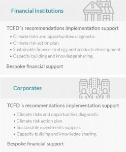 IDB Group's climate risk-related support activities