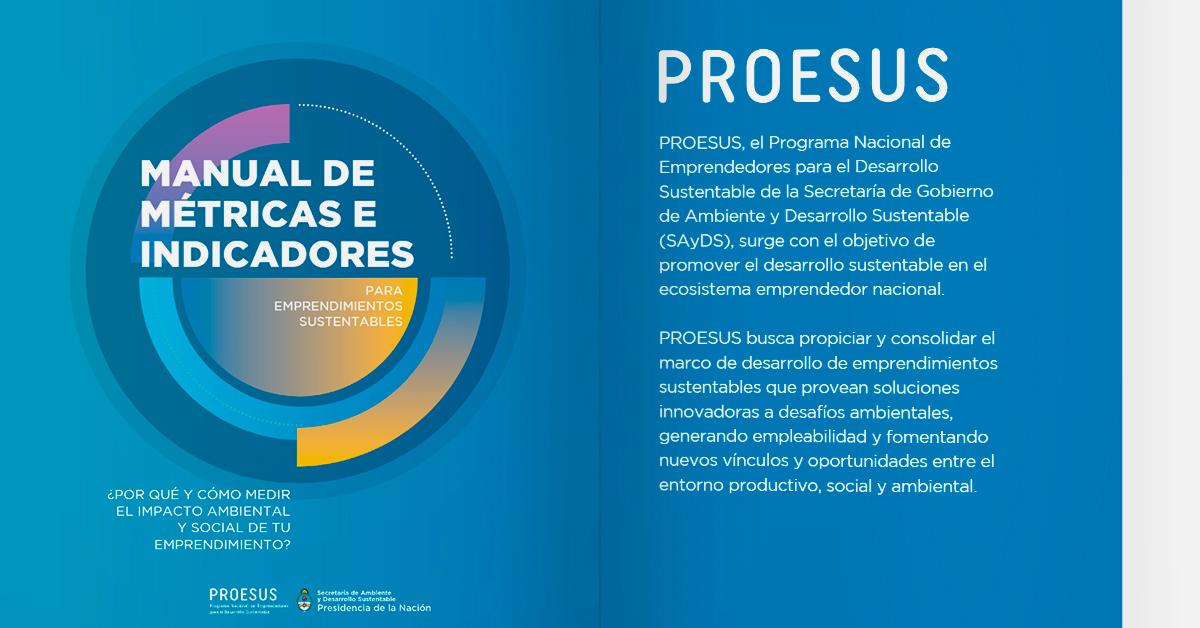 Manual de Métricas e Indicadores para Emprendimientos Sustentable