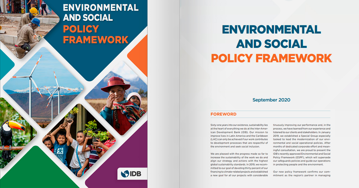 Environmental and Social Policy Framework