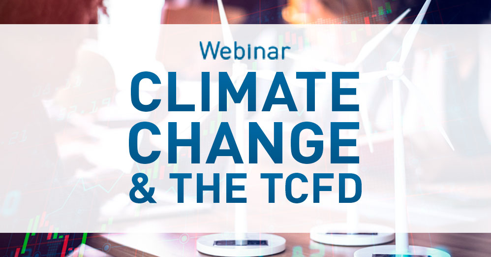 Webinar | Climate Change and TCFD: Risks and Opportunities for the Insurance Sector in Spain and Latin America