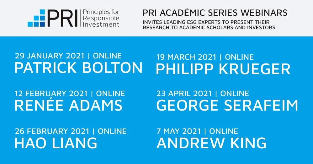 PRI Academic Seminar Series