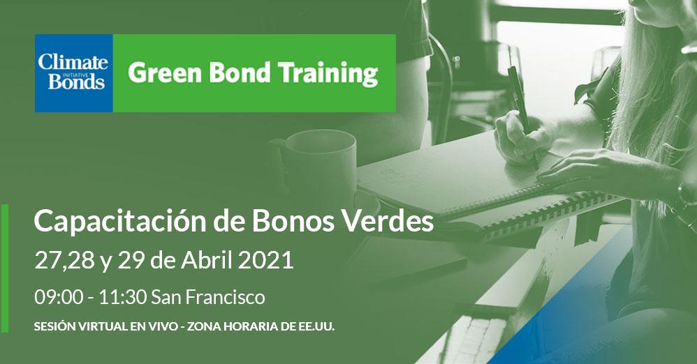Capacitación de Bonos Verdes