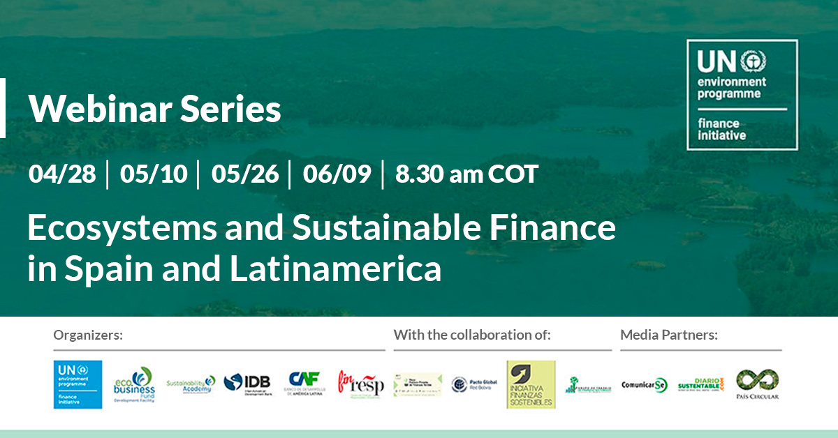 Ecosistemas, Capital Natural y Finanzas Sostenibles