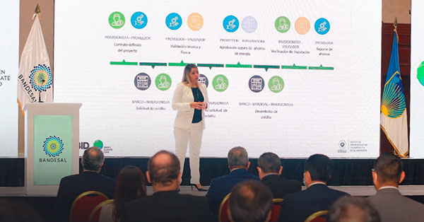 """BANDESAL launches the digital microsite of the Financing Facility """"Energy Efficiency for SMEs"""""""