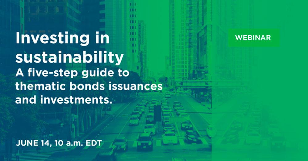 Investir na sustentabilidade. Um guia de cinco etapas para emissões e investimentos em títulos temáticos
