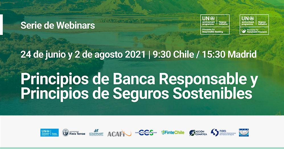 Serie de Webinars sobre los Principios de Banca Responsable (PRB) y los Principios de Seguros Sostenibles (PSI)