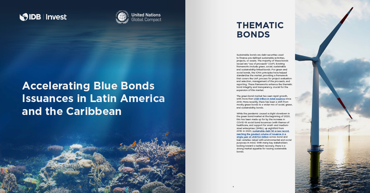 Accelerating Blue Bonds Issuances in Latin America and the Caribbean