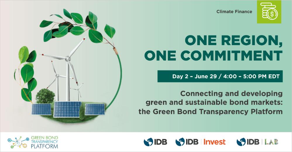 BID Pre-COP26 Summit: Conectando e desenvolvendo mercados de títulos verdes e sustentáveis