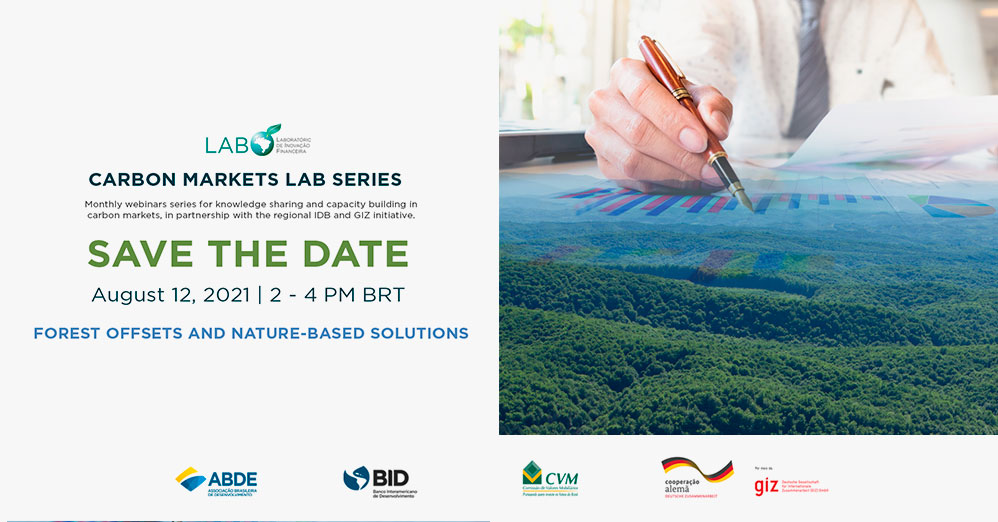 """Carbon Markets LAB Series: """"Forest offsets and nature-based solutions"""""""