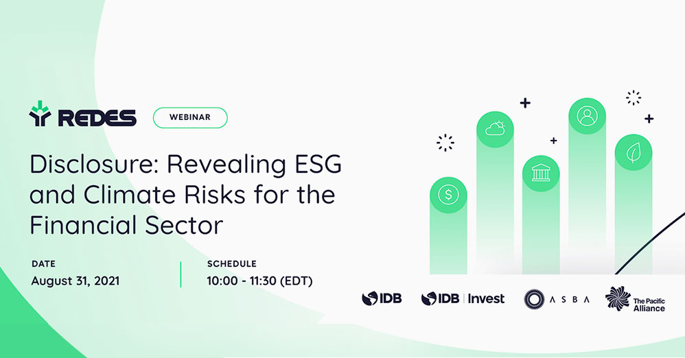 Disclosure: Revealing ESG and Climate Risks for the Financial Sector