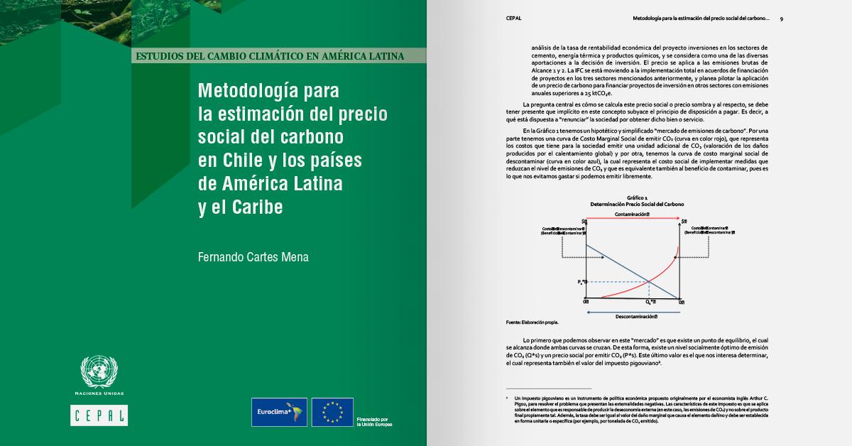 Metodología para la estimación del precio social del carbono en Chile y los países de América Latina y el Caribe