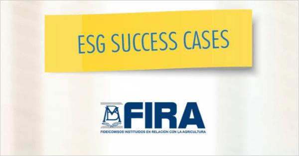 FIRA – ESG Success Cases