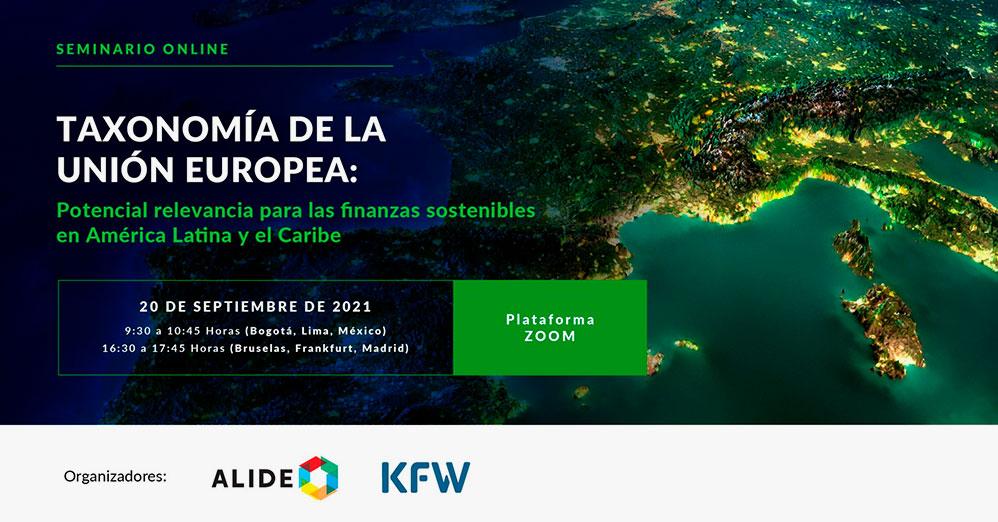 Taxonomía de la Unión Europea: Potencial relevancia para las finanzas sostenibles en América Latina y el Caribe