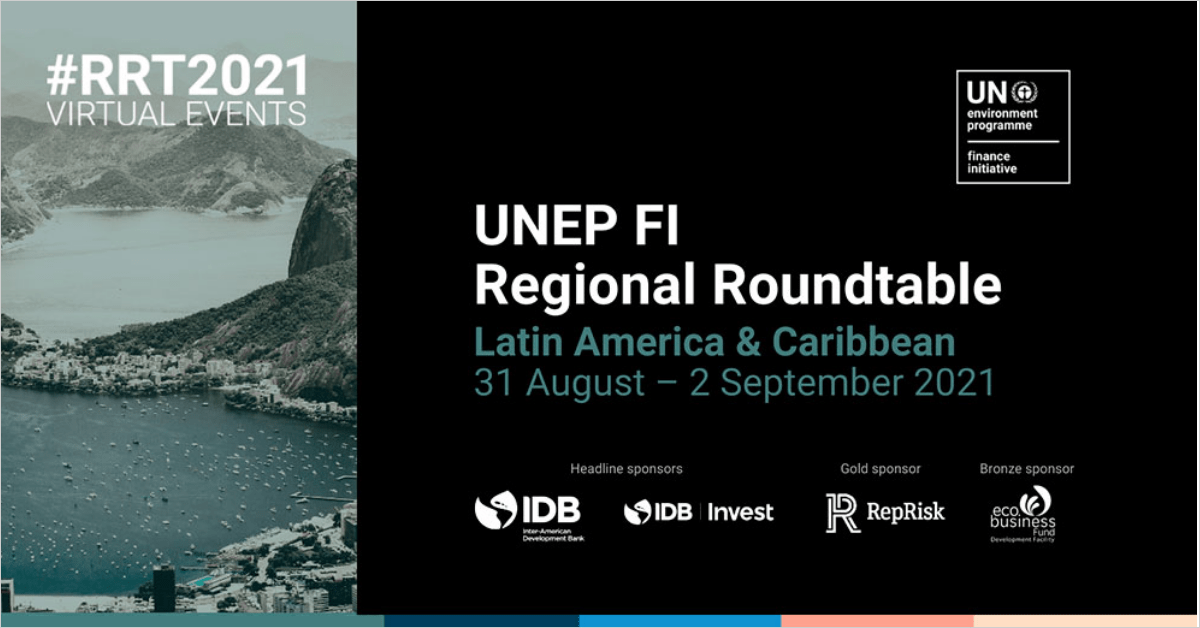 Mesa Redonda Regional sobre Finanzas Sostenibles para América Latina y el Caribe