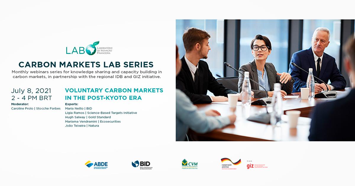 "LAB Carbon Markets Series, Webinar 5: ""Voluntary Markets in the Post-Kyoto Era"""