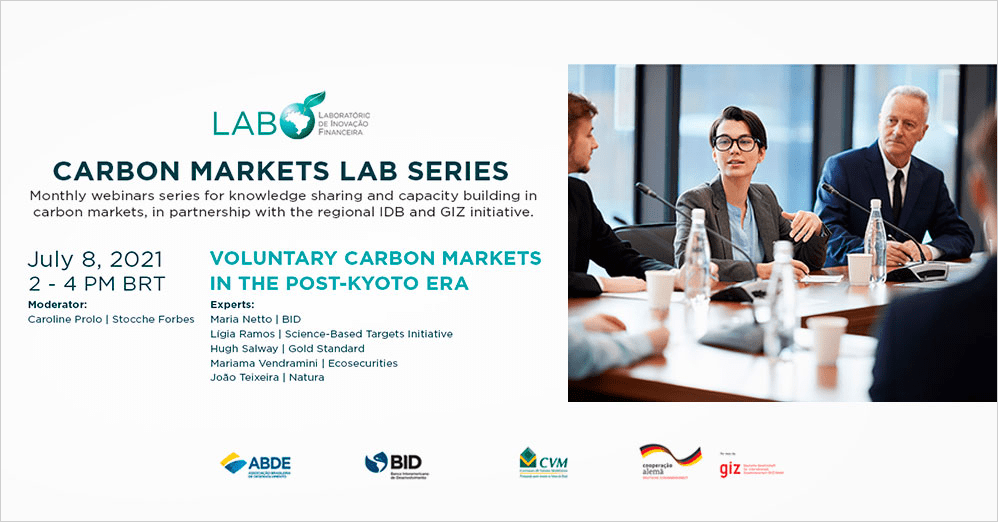 """Carbon Markets LAB Series: """"Voluntary Carbon Markets in the Post-Kyoto Era"""""""